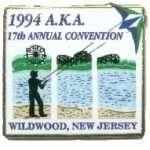 1994 AKA Convention logo - Wildwood NJ