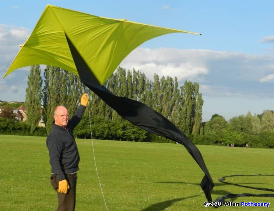 how to make a delta kite wikihow