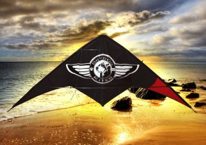 Skydog Kites - Black Dog