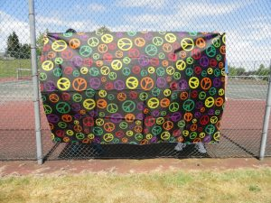Premier Kites - peace fabric