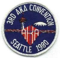 1980 AKA Convention logo - Seattle WA