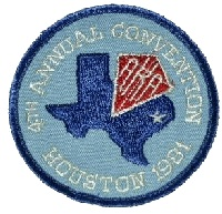 1981 AKA Convention logo - Houston TX