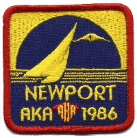 1986 AKA Convention logo - Newport RI