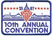 1987 AKA Convention logo - Washington DC