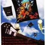 Raffle - Rock & Roll Kite label