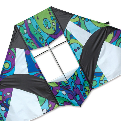 Premier Kites 8.5 foot Box Delta (Cool Orbit)