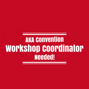 Workshop Coordinator