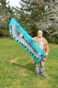 Daves Native Headress Banner